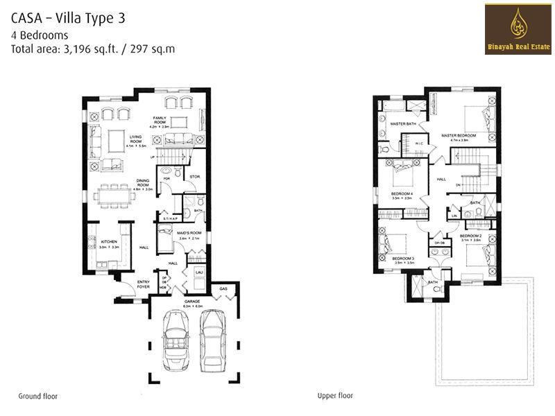 Casa Villa Floor Plan 3