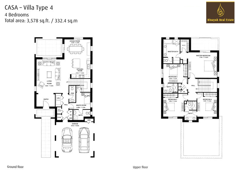 Casa Floor Plans Casa Villa For Sale And Rent In Dubai